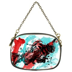 Wallpaper Background Watercolors Chain Purses (one Side)
