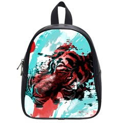 Wallpaper Background Watercolors School Bags (small)
