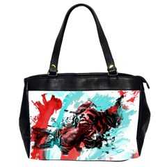 Wallpaper Background Watercolors Office Handbags (2 Sides)