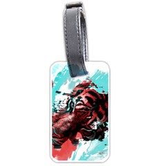 Wallpaper Background Watercolors Luggage Tags (two Sides)
