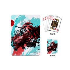 Wallpaper Background Watercolors Playing Cards (Mini)