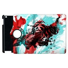 Wallpaper Background Watercolors Apple Ipad 2 Flip 360 Case