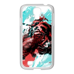 Wallpaper Background Watercolors Samsung Galaxy S4 I9500/ I9505 Case (white)