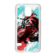 Wallpaper Background Watercolors Samsung Galaxy S5 Case (white)
