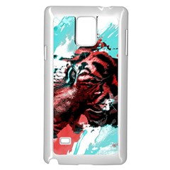 Wallpaper Background Watercolors Samsung Galaxy Note 4 Case (white)