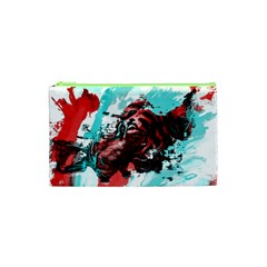 Wallpaper Background Watercolors Cosmetic Bag (XS)