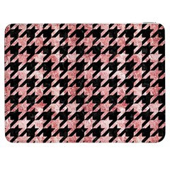 Houndstooth1 Black Marble & Red & White Marble Samsung Galaxy Tab 7  P1000 Flip Case