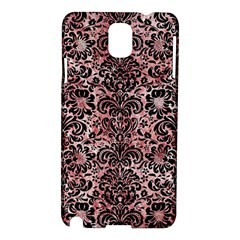 Damask2 Black Marble & Red & White Marble (r) Samsung Galaxy Note 3 N9005 Hardshell Case