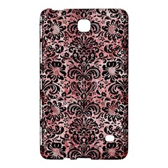 Damask2 Black Marble & Red & White Marble (r) Samsung Galaxy Tab 4 (8 ) Hardshell Case