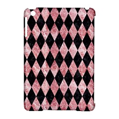 Diamond1 Black Marble & Red & White Marble Apple Ipad Mini Hardshell Case (compatible With Smart Cover)