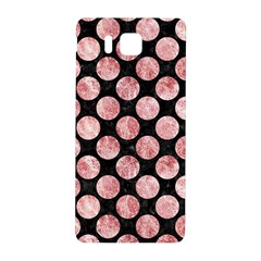 Circles2 Black Marble & Red & White Marble Samsung Galaxy Alpha Hardshell Back Case
