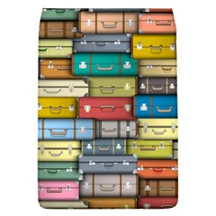 Colored Suitcases Flap Covers (l)