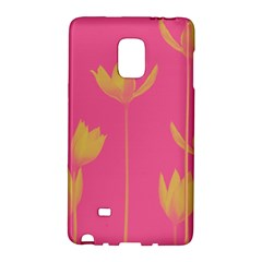 Flower Yellow Pink Galaxy Note Edge