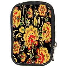 Flower Yellow Green Red Compact Camera Cases