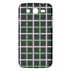 Pink And Green Tiles On Dark Green Samsung Galaxy Mega 5 8 I9152 Hardshell Case