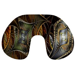 Mosaics Stained Glass Travel Neck Pillows