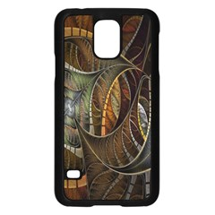 Mosaics Stained Glass Samsung Galaxy S5 Case (black)