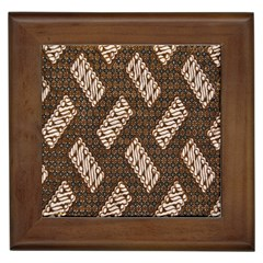 Batik Cap Truntum Kombinasi Framed Tiles