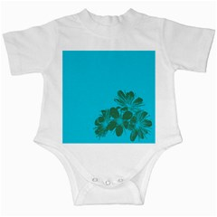 Blue Flower Infant Creepers
