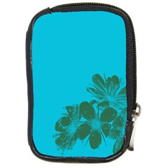 Blue Flower Compact Camera Cases