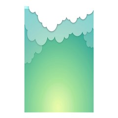 Clouds Shower Curtain 48  X 72  (small)