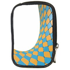 Curve Blue Yellow Compact Camera Cases