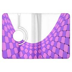 Curve Purple Pink Wave Kindle Fire Hdx Flip 360 Case