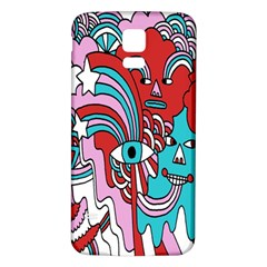 Face Mask Sinister Samsung Galaxy S5 Back Case (white)