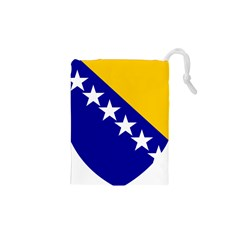Coat Of Arms Of Bosnia And Herzegovina Drawstring Pouches (xs)