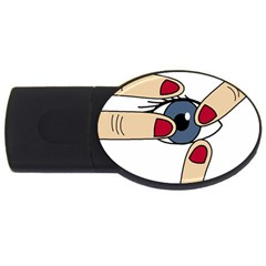 Poke USB Flash Drive Oval (4 GB)