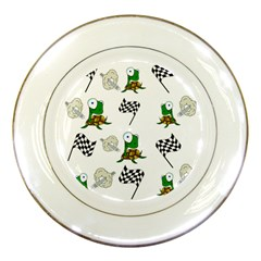 Speed Porcelain Plates