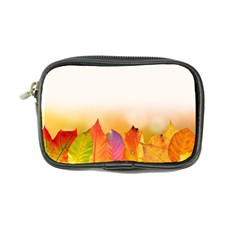 Autumn Leaves Colorful Fall Foliage Coin Purse
