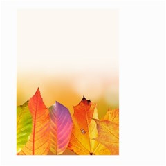 Autumn Leaves Colorful Fall Foliage Large Garden Flag (two Sides)