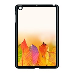 Autumn Leaves Colorful Fall Foliage Apple Ipad Mini Case (black)