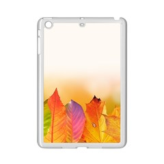 Autumn Leaves Colorful Fall Foliage Ipad Mini 2 Enamel Coated Cases