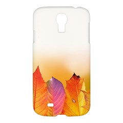 Autumn Leaves Colorful Fall Foliage Samsung Galaxy S4 I9500/i9505 Hardshell Case