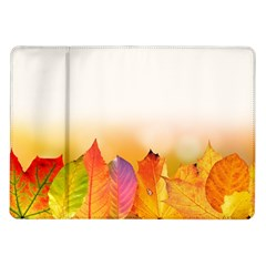 Autumn Leaves Colorful Fall Foliage Samsung Galaxy Tab 10 1  P7500 Flip Case