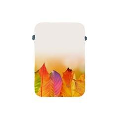 Autumn Leaves Colorful Fall Foliage Apple Ipad Mini Protective Soft Cases