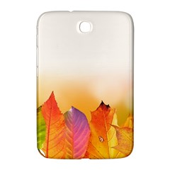 Autumn Leaves Colorful Fall Foliage Samsung Galaxy Note 8 0 N5100 Hardshell Case