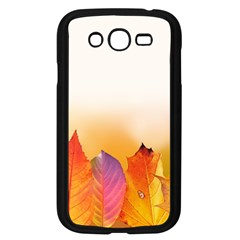 Autumn Leaves Colorful Fall Foliage Samsung Galaxy Grand Duos I9082 Case (black)
