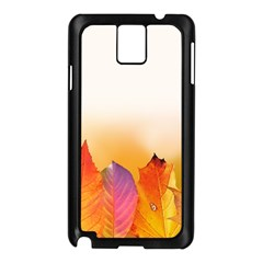 Autumn Leaves Colorful Fall Foliage Samsung Galaxy Note 3 N9005 Case (black)