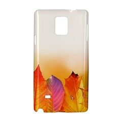 Autumn Leaves Colorful Fall Foliage Samsung Galaxy Note 4 Hardshell Case