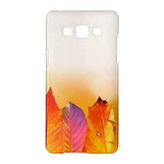 Autumn Leaves Colorful Fall Foliage Samsung Galaxy A5 Hardshell Case