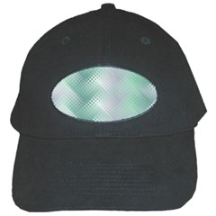 Background Bubblechema Perforation Black Cap