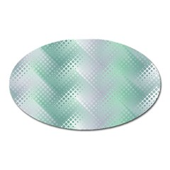 Background Bubblechema Perforation Oval Magnet