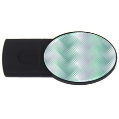 Background Bubblechema Perforation Usb Flash Drive Oval (4 Gb)
