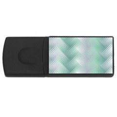 Background Bubblechema Perforation Usb Flash Drive Rectangular (4 Gb)