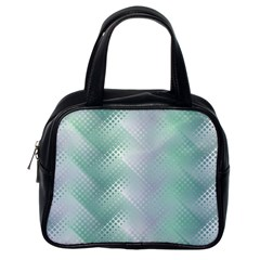 Background Bubblechema Perforation Classic Handbags (one Side)