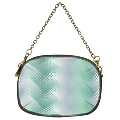 Background Bubblechema Perforation Chain Purses (two Sides)