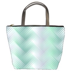 Background Bubblechema Perforation Bucket Bags